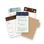 We R Memory Keepers - Typecast Collection - Card Set - Mini