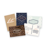 We R Memory Keepers - Typecast Collection - Card and Envelope Set - Mint