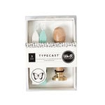 We R Memory Keepers - Typecast Collection - Wax Seal Kit - Butterfly