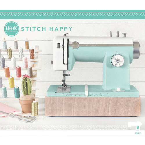 We R Memory Keepers - Stitch Happy Collection - Sewing Machine - Mint