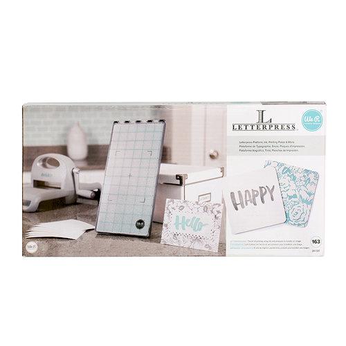 We R Memory Keepers - Letterpress - Starter Kit