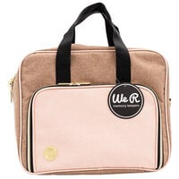 We R Memory Keepers - Crafter's Bag - Shoulder Bag - Taupe and Pink