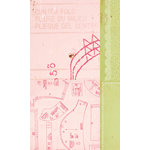 American Crafts - Crate Paper - Pretty Party Collection - 12 x 12 Double Sided Paper - Party Dress