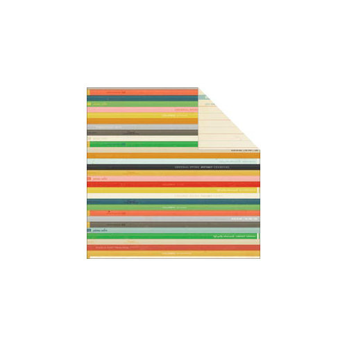 American Crafts - Crate Paper - Story Teller Collection - 12 x 12 Double Sided Paper - Generations