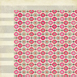 American Crafts - Crate Paper - On Trend Collection - 12 x 12 Double Sided Paper - Fad