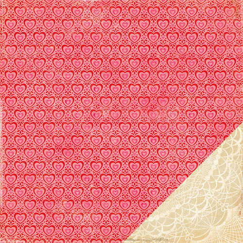 American Crafts - Crate Paper - Fourteen Collection - 12 x 12 Double Sided Paper - Darling