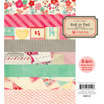 American Crafts - Crate Paper - Fourteen Collection - 6 x 6 Paper Pad