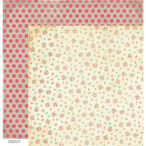 American Crafts - Crate Paper - DIY Shop Collection - 12 x 12 Double Sided Paper - Details