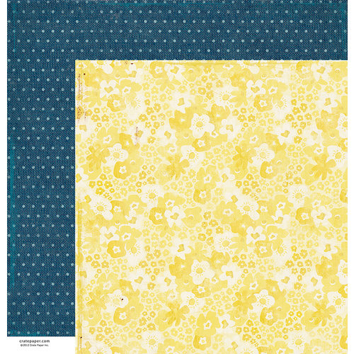 American Crafts - Crate Paper - Maggie Holmes Collection - 12 x 12 Double Sided Paper - Happy Day