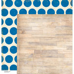 American Crafts - Crate Paper - Maggie Holmes Collection - 12 x 12 Double Sided Paper - Click