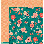 Crate Paper - Wonder Collection - 12 x 12 Double Sided Paper - Wild Spirit