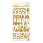 Crate Paper - Wonder Collection - Thickers - Chipboard - Corrugated - Gold Charm