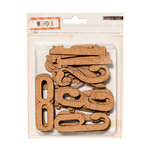 Crate Paper - Wonder Collection - Die Cut Cork Pieces - Numbers