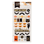 Crate Paper - After Dark Collection - Halloween - Puffy Stickers