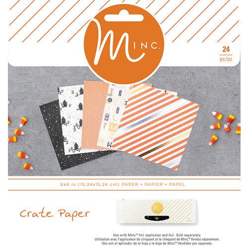 Heidi Swapp - MINC Collection - Halloween - 6 x 6 Paper Pad - Halloween