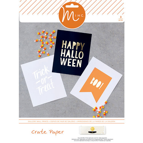 Heidi Swapp - Crate Paper - MINC Collection - Halloween - Gallery Wall Prints