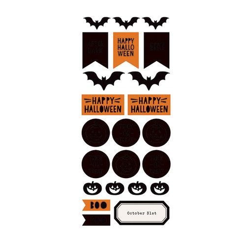 Heidi Swapp - MINC Collection - Halloween - Cardstock Stickers