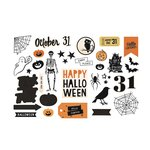Heidi Swapp - Crate Paper - MINC Collection - Halloween - Ephemera
