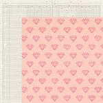 Crate Paper - Maggie Holmes Collection - Shine - 12 x 12 Double Sided Paper - Lovely