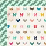 Crate Paper - Maggie Holmes Collection - Shine - 12 x 12 Double Sided Paper - Charming