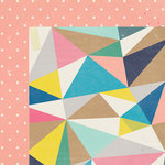 Crate Paper - Maggie Holmes Collection - Shine - 12 x 12 Double Sided Paper - Dazzle