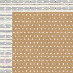 Crate Paper - Shine Collection - 12 x 12 Double Sided Paper - Twinkle