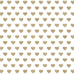 Crate Paper - Maggie Holmes Collection - Shine - 12 x 12 Acetate Paper with Glitter Accents - Happy Heart