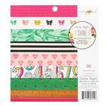 Crate Paper - Maggie Holmes Collection - Shine - 6 x 6 Paper Pad