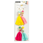 Crate Paper - Shine Collection - Tassels with Glitter Accents