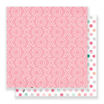 Crate Paper - Hello Love Collection - 12 x 12 Double Sided Paper - Smitten