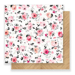 Crate Paper - Hello Love Collection - 12 x 12 Double Sided Paper - Sweetly