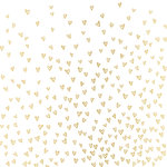 Crate Paper - Hello Love Collection - 12 x 12 Vellum with Foil Accents - Dearest