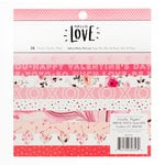 Crate Paper - Hello Love Collection - 6 x 6 Paper Pad