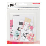 Crate Paper - Hello Love Collection - Ephemera