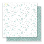 Crate Paper - Little You Collection - 12 x 12 Double Sided Paper - Little Toes