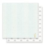 Crate Paper - Little You Collection - 12 x 12 Double Sided Paper - Cuddle