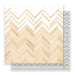 Crate Paper - Little You Collection - 12 x 12 Double Sided Paper - Loved