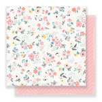 Crate Paper - Little You Collection - 12 x 12 Double Sided Paper - Precious