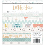 Crate Paper - Little You Collection - 6 x 6 Paper Pad - Boy