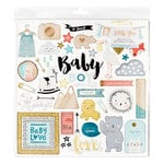 Crate Paper - Little You Collection - Cardstock Stickers - Accents - Boy