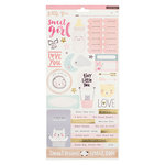 Crate Paper - Little You Collection - Cardstock Stickers - Accents - Girl