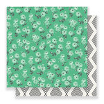 Crate Paper - Bloom Collection - 12 x 12 Double Sided Paper - Elsie