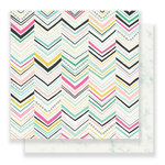 Crate Paper - Maggie Holmes Collection - Bloom - 12 x 12 Double Sided Paper - Delighted