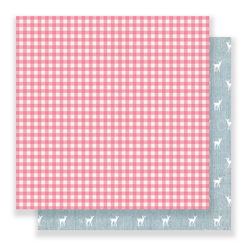 Crate Paper - Bloom Collection - 12 x 12 Double Sided Paper - My Dear