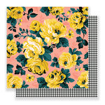 Crate Paper - Bloom Collection - 12 x 12 Double Sided Paper - Emily