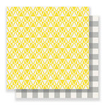 Crate Paper - Bloom Collection - 12 x 12 Double Sided Paper - Afternoon
