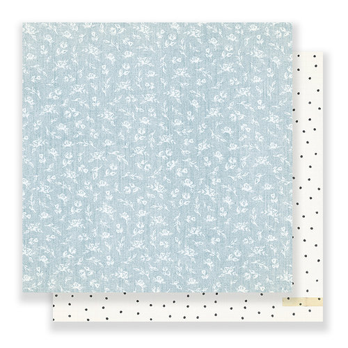 Crate Paper - Bloom Collection - 12 x 12 Double Sided Paper - Wonderful