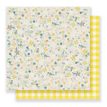 Crate Paper - Maggie Holmes Collection - Bloom - 12 x 12 Double Sided Paper - Sun Lit