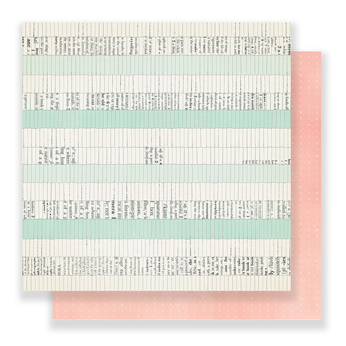 Crate Paper - Bloom Collection - 12 x 12 Double Sided Paper - Spring