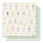 Crate Paper - Bloom Collection - 12 x 12 Double Sided Paper - Together